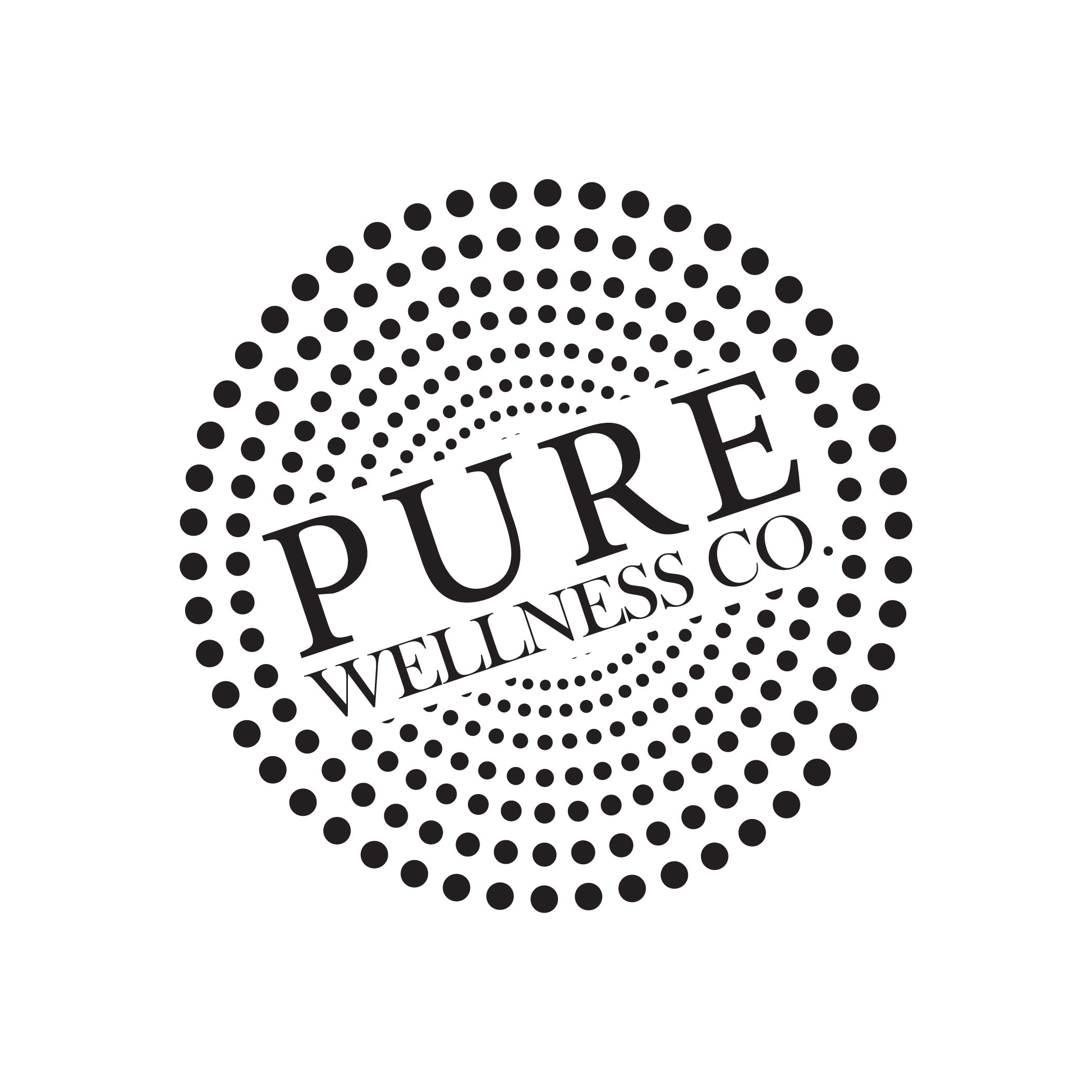 purewellness-logo-custom-business-branding