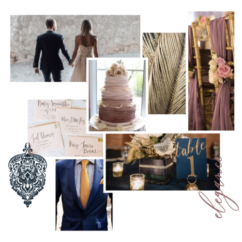 Victoria & Tory Wedding Style Board