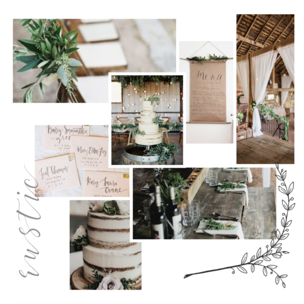 alisa and alex wedding suite style board