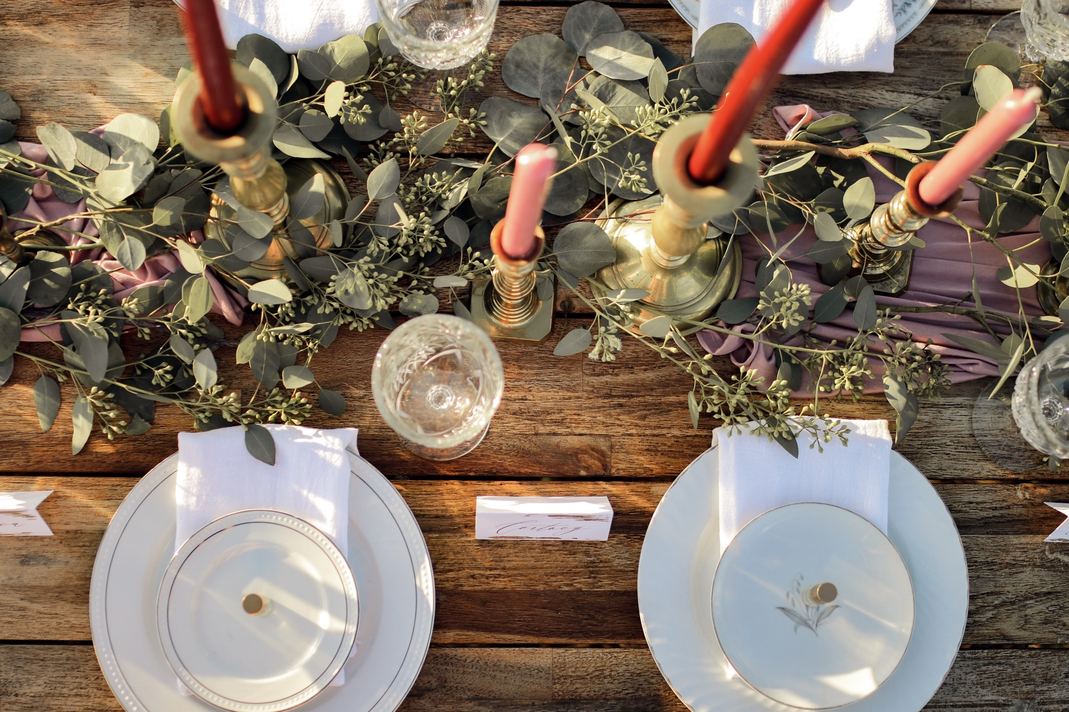 Galentine's Day Tablescape | The Gathered Gals | www.themoxieworkshop.com